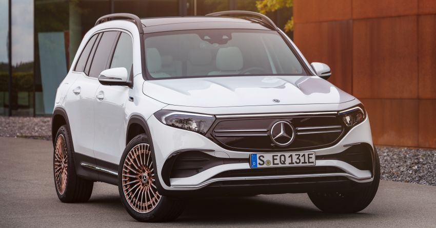 Mercedes-Benz EQB – seven-seat electric SUV detailed Image #1341570