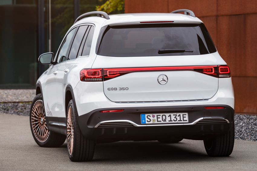 Mercedes-Benz EQB – seven-seat electric SUV detailed Image #1341571