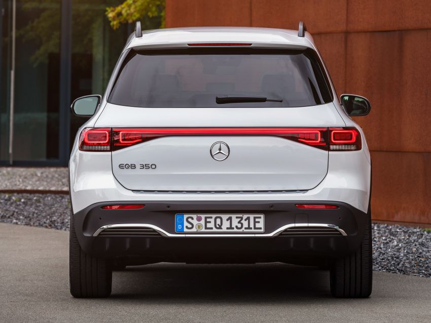 Mercedes-Benz EQB – seven-seat electric SUV detailed Image #1341572