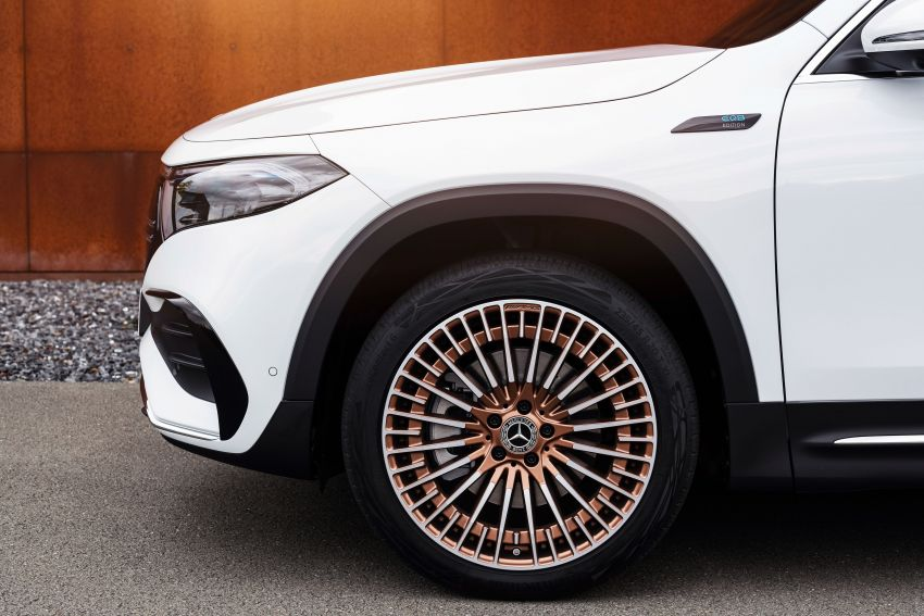 Mercedes-Benz EQB – seven-seat electric SUV detailed Image #1341573
