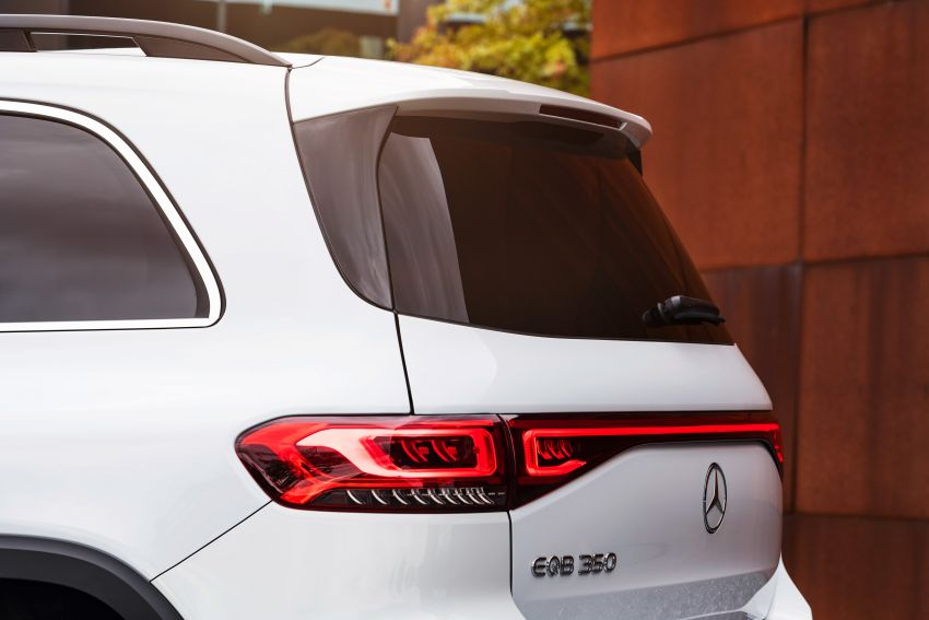 Mercedes-Benz EQB – seven-seat electric SUV detailed Image #1341574