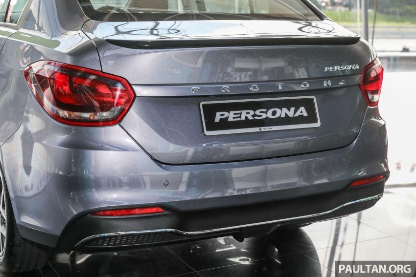 GALLERY: 2022 Proton Persona 1.6 Premium – RM56k Image #1338257