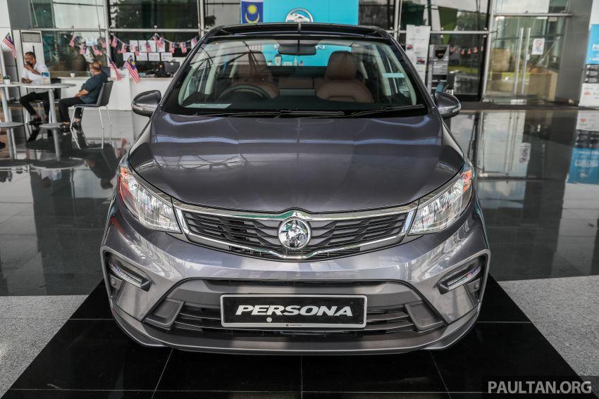 GALLERY: 2022 Proton Persona 1.6 Premium – RM56k Image #1338244
