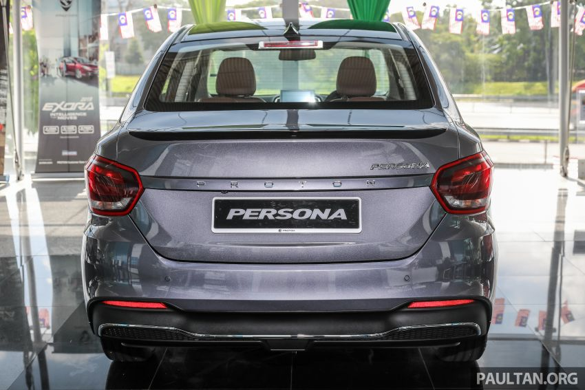 GALLERY: 2022 Proton Persona 1.6 Premium – RM56k Image #1338245