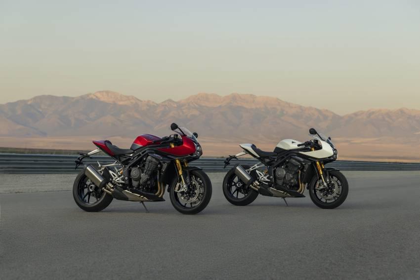 2022 Triumph Speed Triple 1200RR makes world debut Image #1346612