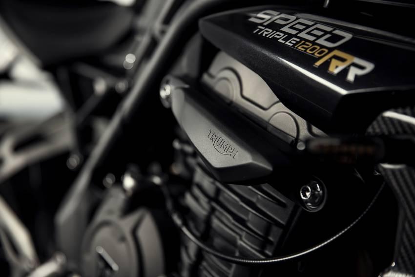 2022 Triumph Speed Triple 1200RR makes world debut Image #1346619