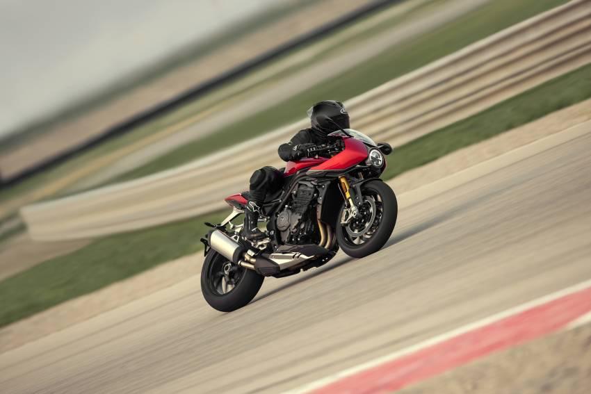 2022 Triumph Speed Triple 1200RR makes world debut Image #1346603