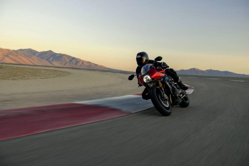 2022 Triumph Speed Triple 1200RR makes world debut Image #1346640