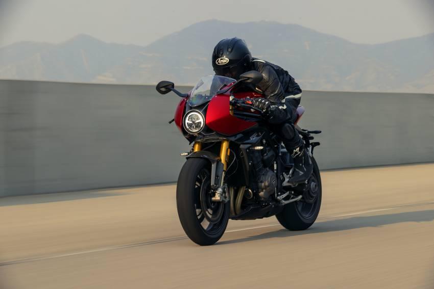 2022 Triumph Speed Triple 1200RR makes world debut Image #1346646