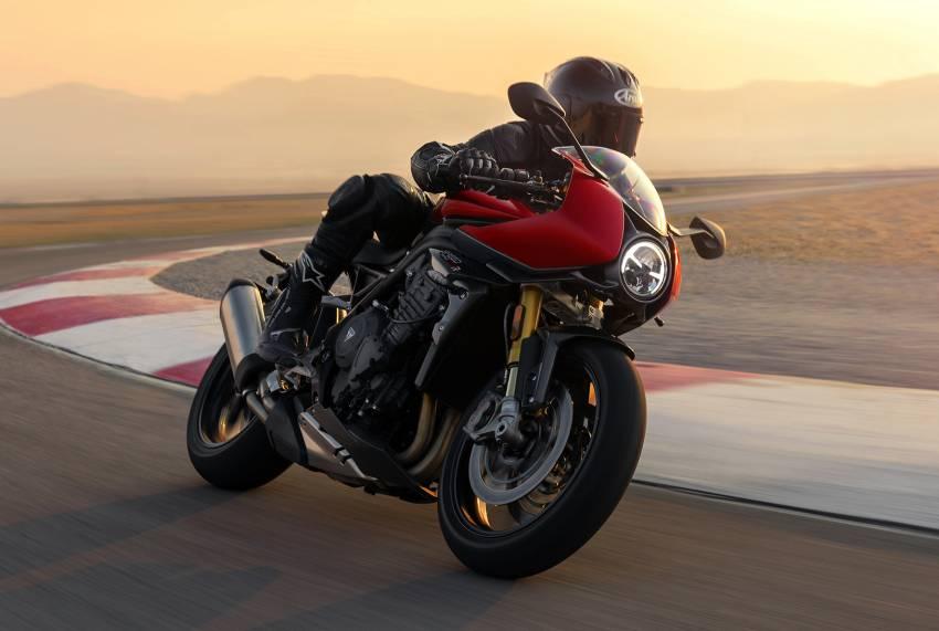 2022 Triumph Speed Triple 1200RR makes world debut Image #1346648