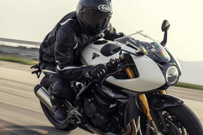2022 Triumph Speed Triple 1200RR makes world debut Image #1346607