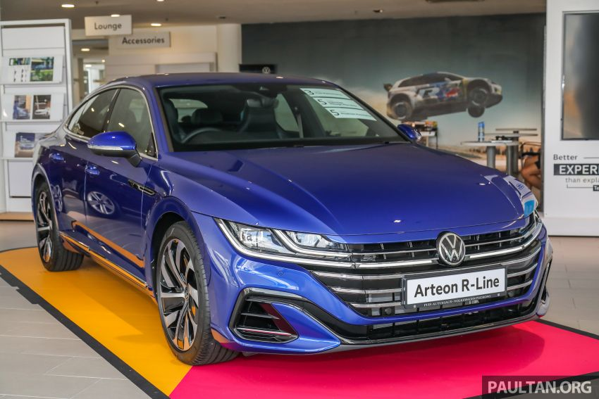 GALLERY: 2021 Volkswagen Arteon R-Line 2.0 TSI 4Motion in Malaysia – 280 PS, 350 Nm; from RM249k Image #1339173