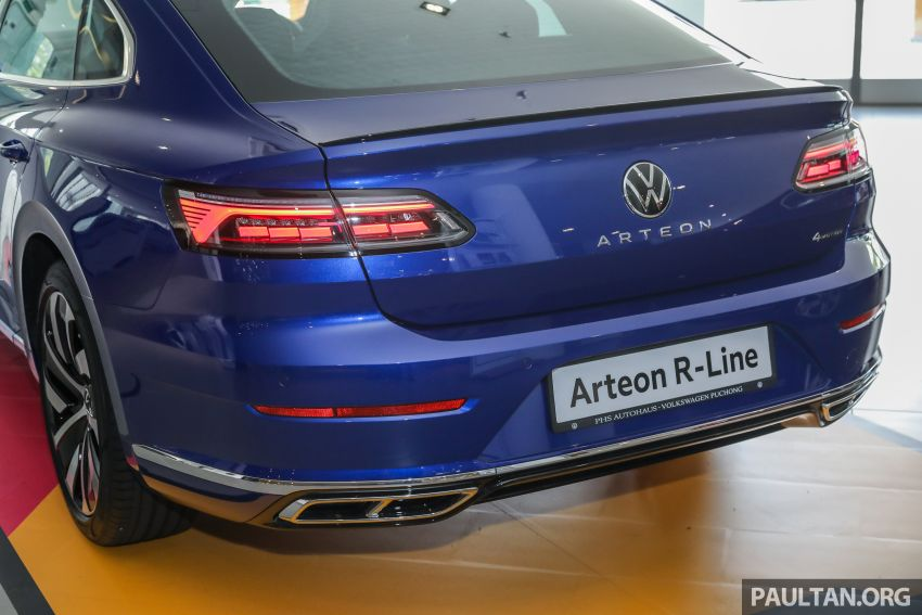 GALLERY: 2021 Volkswagen Arteon R-Line 2.0 TSI 4Motion in Malaysia – 280 PS, 350 Nm; from RM249k Image #1339193