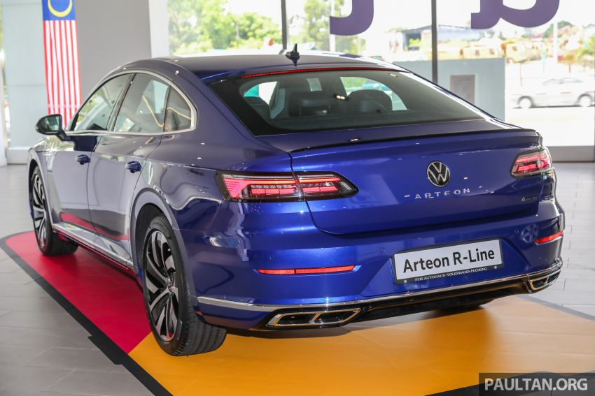 GALLERY: 2021 Volkswagen Arteon R-Line 2.0 TSI 4Motion in Malaysia – 280 PS, 350 Nm; from RM249k Image #1339174