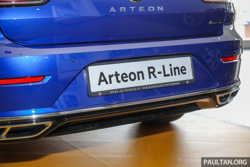 GALLERY: 2021 Volkswagen Arteon R-Line 2.0 TSI 4Motion in Malaysia – 280 PS, 350 Nm; from RM249k Image #1339197