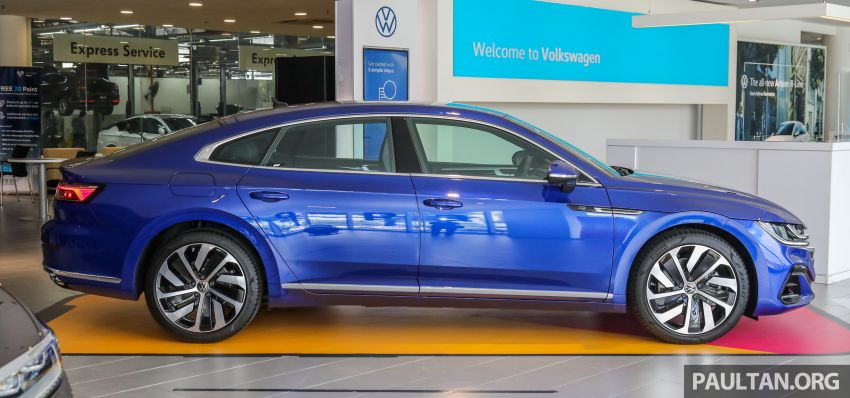 GALLERY: 2021 Volkswagen Arteon R-Line 2.0 TSI 4Motion in Malaysia – 280 PS, 350 Nm; from RM249k Image #1339176