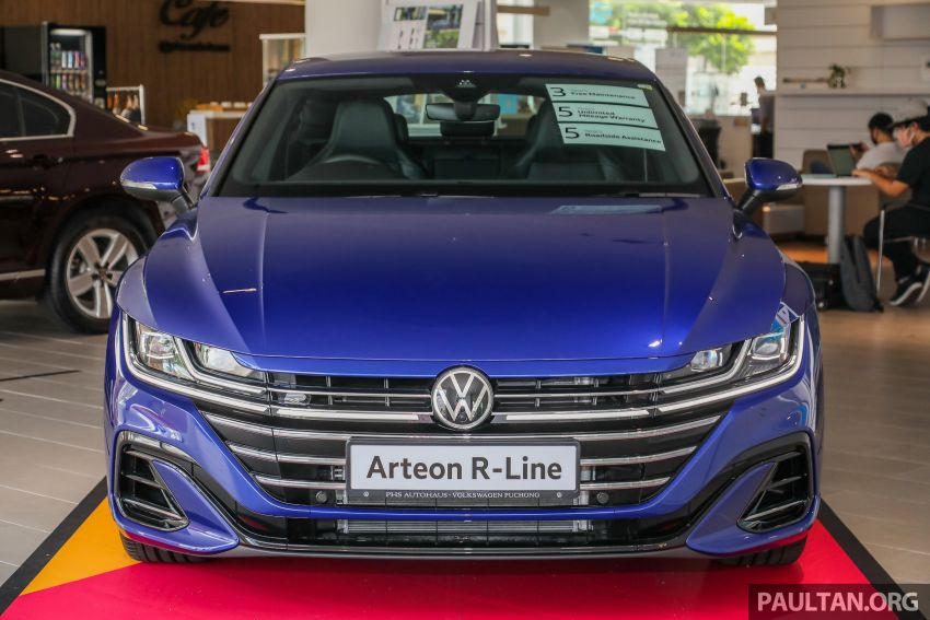 GALLERY: 2021 Volkswagen Arteon R-Line 2.0 TSI 4Motion in Malaysia – 280 PS, 350 Nm; from RM249k Image #1339177