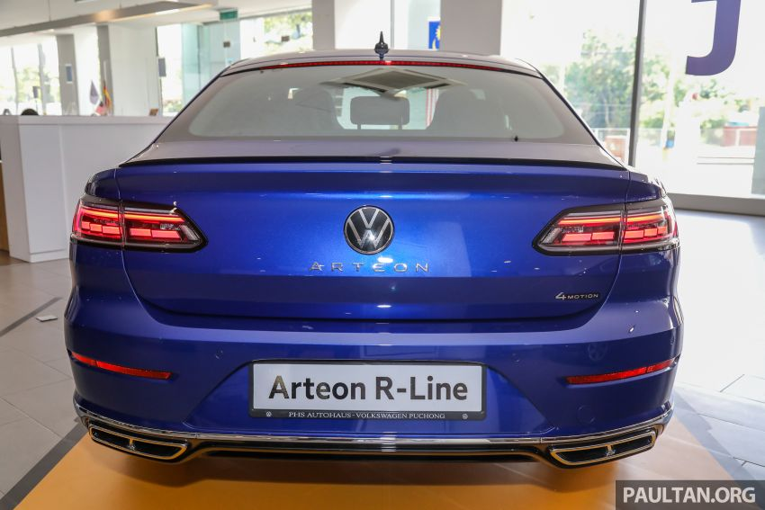 GALLERY: 2021 Volkswagen Arteon R-Line 2.0 TSI 4Motion in Malaysia – 280 PS, 350 Nm; from RM249k Image #1339178