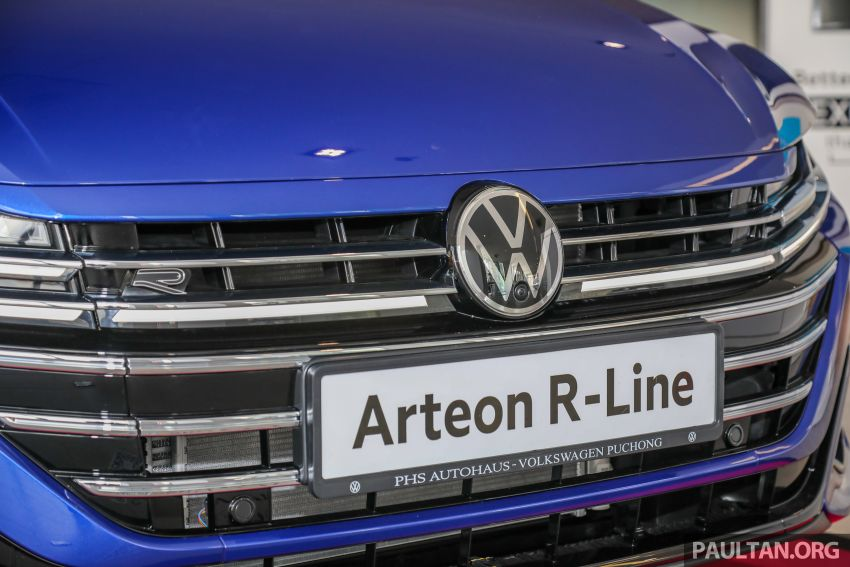 GALLERY: 2021 Volkswagen Arteon R-Line 2.0 TSI 4Motion in Malaysia – 280 PS, 350 Nm; from RM249k Image #1339183