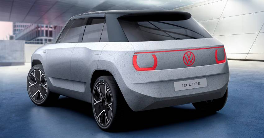 Volkswagen ID. Life concept debuts – entry-level EV with video game console, mini projector; sub-RM100k! Image #1342310