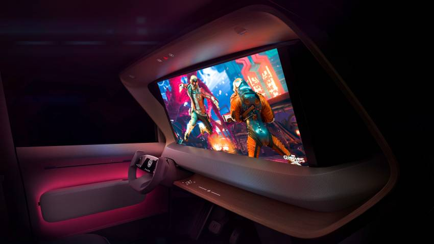 Volkswagen ID. Life concept debuts – entry-level EV with video game console, mini projector; sub-RM100k! Image #1342341