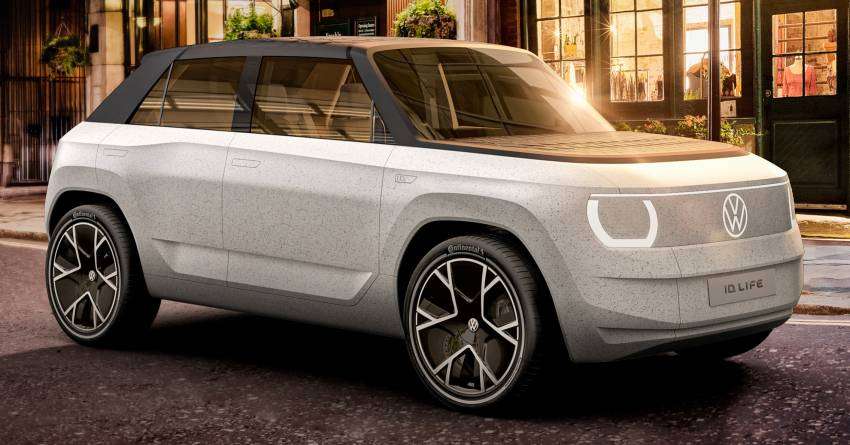 Volkswagen ID. Life concept debuts – entry-level EV with video game console, mini projector; sub-RM100k! Image #1342314