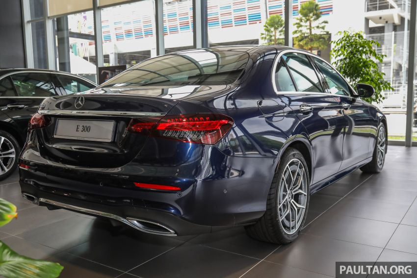 GALLERY: 2021 Mercedes-Benz E300 AMG Line facelift in Malaysia – 258 PS and 370 Nm; priced from RM375k Image #1339587