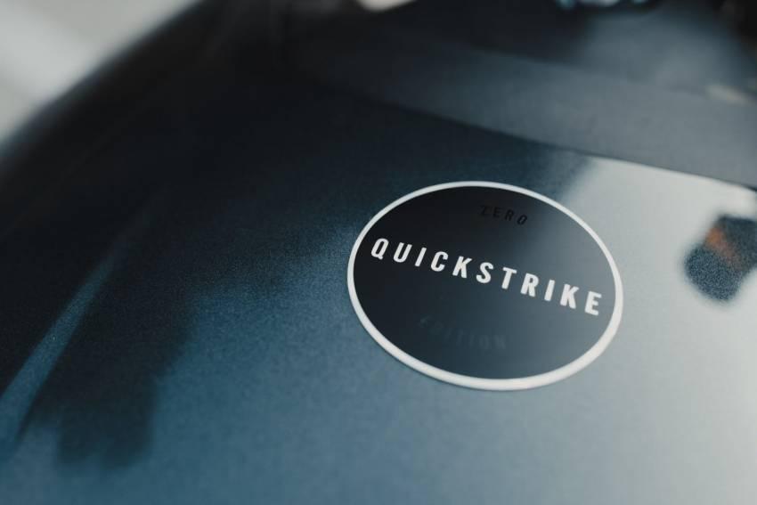 "Zero Motorcycles ""Quickstrike"" limited edition e-bike Image #1346852"