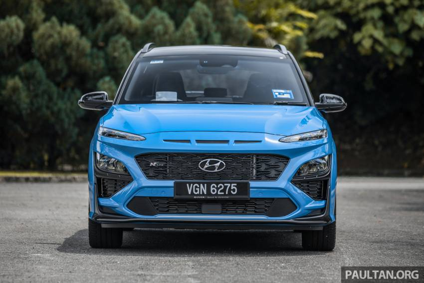 GALLERY: 2021 Hyundai Kona N Line facelift on the road in Malaysia – sportier 1.6 turbo model, RM157k Image #1351192