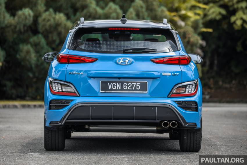 GALLERY: 2021 Hyundai Kona N Line facelift on the road in Malaysia – sportier 1.6 turbo model, RM157k Image #1351194