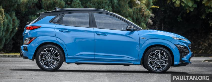 GALLERY: 2021 Hyundai Kona N Line facelift on the road in Malaysia – sportier 1.6 turbo model, RM157k Image #1351197