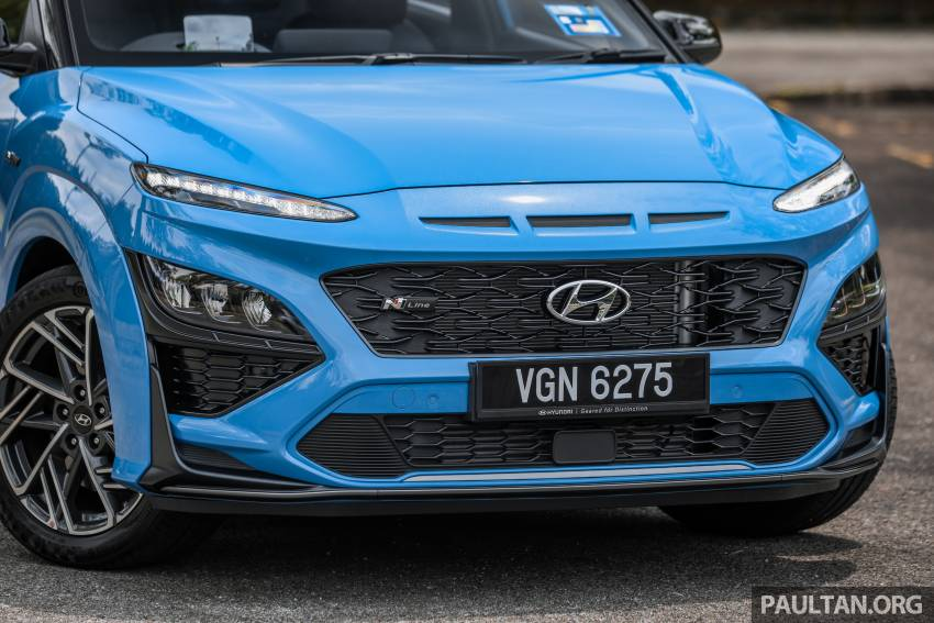 GALLERY: 2021 Hyundai Kona N Line facelift on the road in Malaysia – sportier 1.6 turbo model, RM157k Image #1351198