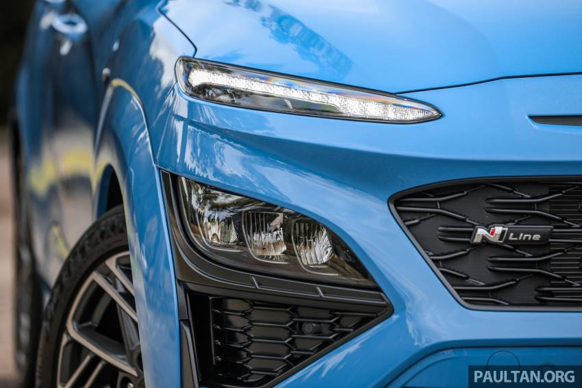 GALLERY: 2021 Hyundai Kona N Line facelift on the road in Malaysia – sportier 1.6 turbo model, RM157k Image #1351199