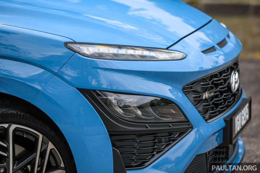 GALLERY: 2021 Hyundai Kona N Line facelift on the road in Malaysia – sportier 1.6 turbo model, RM157k Image #1351200