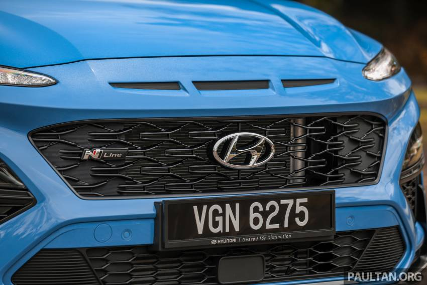 GALLERY: 2021 Hyundai Kona N Line facelift on the road in Malaysia – sportier 1.6 turbo model, RM157k Image #1351202