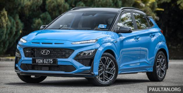 GALLERY: 2021 Hyundai Kona N Line facelift on the way in Malaysia – sportier 1.6 turbo model, RM157k