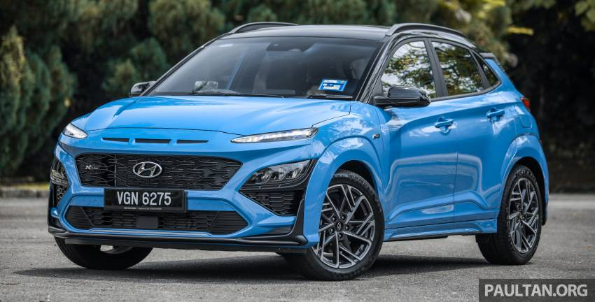 GALLERY: 2021 Hyundai Kona N Line facelift on the road in Malaysia – sportier 1.6 turbo model, RM157k Image #1351184