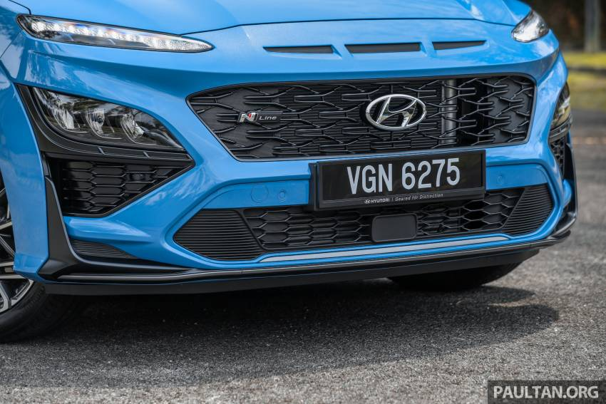 GALLERY: 2021 Hyundai Kona N Line facelift on the road in Malaysia – sportier 1.6 turbo model, RM157k Image #1351203