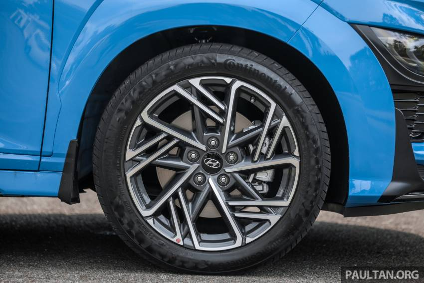 GALLERY: 2021 Hyundai Kona N Line facelift on the road in Malaysia – sportier 1.6 turbo model, RM157k Image #1351205