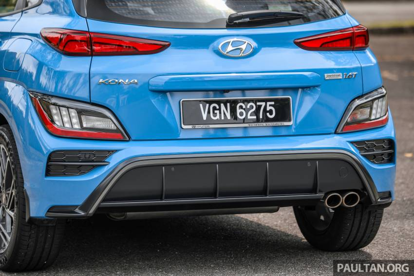 GALLERY: 2021 Hyundai Kona N Line facelift on the road in Malaysia – sportier 1.6 turbo model, RM157k Image #1351214