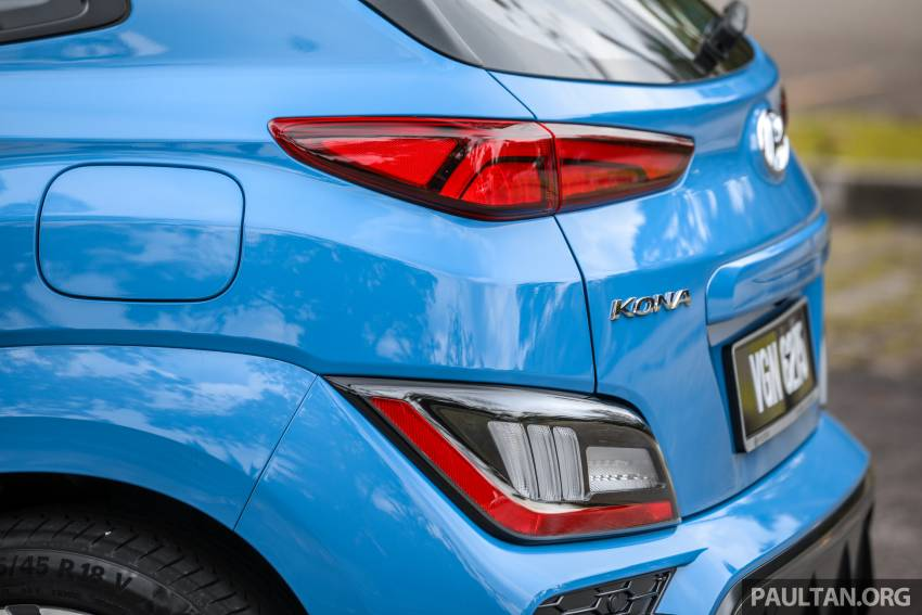 GALLERY: 2021 Hyundai Kona N Line facelift on the road in Malaysia – sportier 1.6 turbo model, RM157k Image #1351216