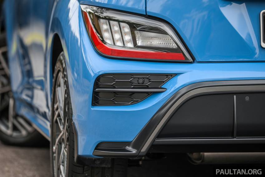 GALLERY: 2021 Hyundai Kona N Line facelift on the road in Malaysia – sportier 1.6 turbo model, RM157k Image #1351217