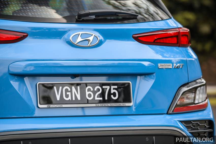 GALLERY: 2021 Hyundai Kona N Line facelift on the road in Malaysia – sportier 1.6 turbo model, RM157k Image #1351218