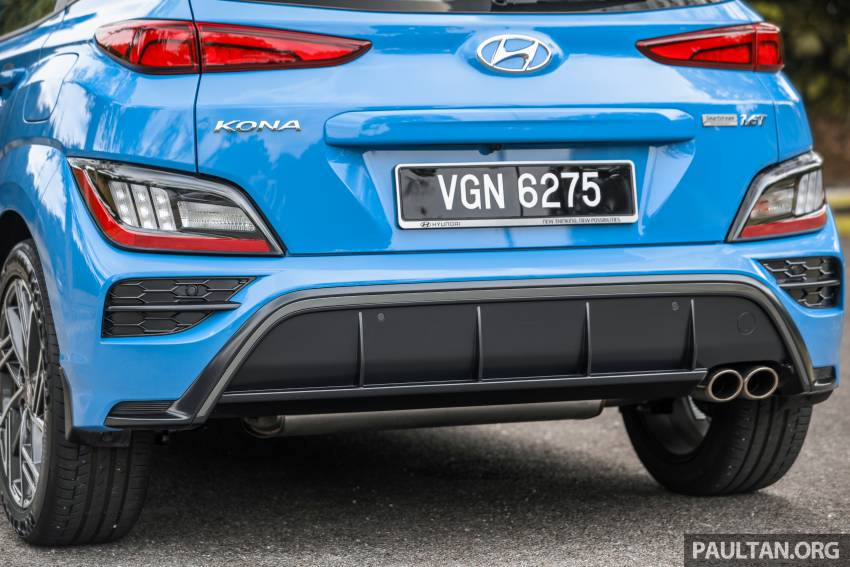GALLERY: 2021 Hyundai Kona N Line facelift on the road in Malaysia – sportier 1.6 turbo model, RM157k Image #1351219