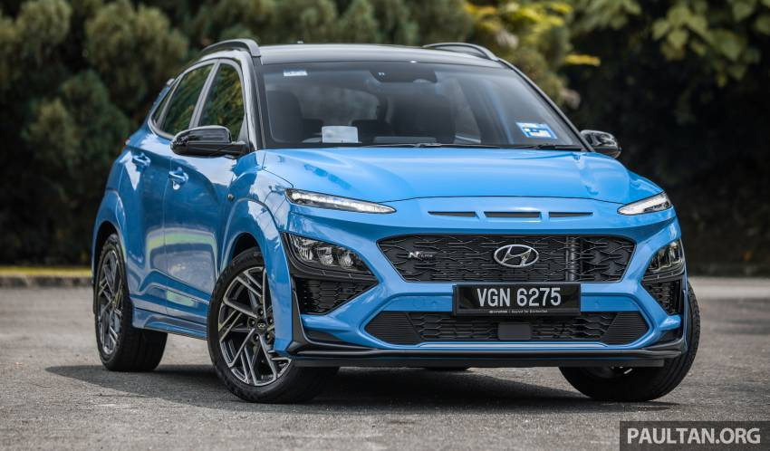 GALLERY: 2021 Hyundai Kona N Line facelift on the road in Malaysia – sportier 1.6 turbo model, RM157k Image #1351186