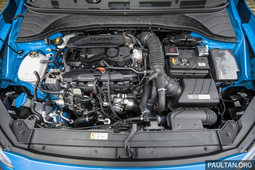 GALLERY: 2021 Hyundai Kona N Line facelift on the road in Malaysia – sportier 1.6 turbo model, RM157k Image #1351224