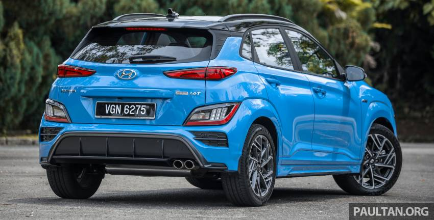 GALLERY: 2021 Hyundai Kona N Line facelift on the road in Malaysia – sportier 1.6 turbo model, RM157k Image #1351188