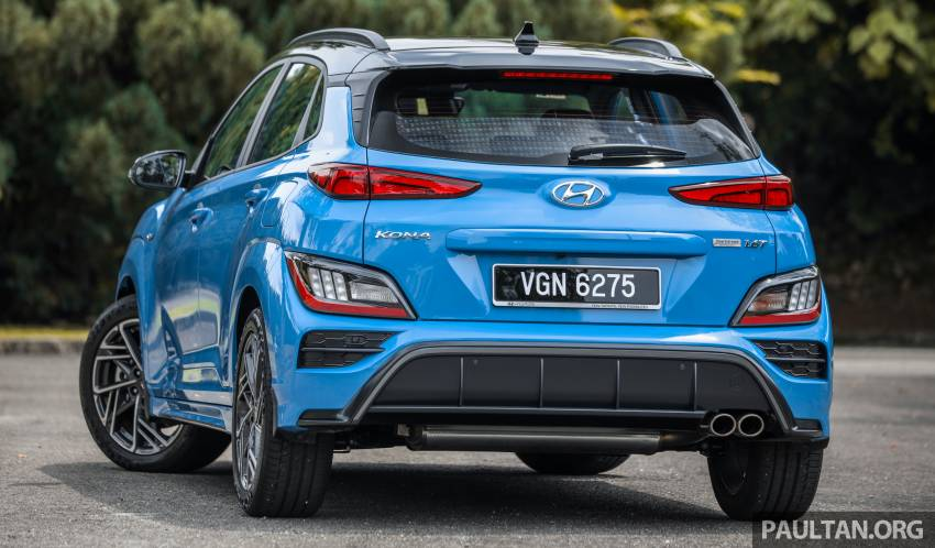 GALLERY: 2021 Hyundai Kona N Line facelift on the road in Malaysia – sportier 1.6 turbo model, RM157k Image #1351190