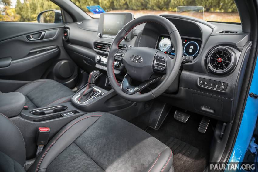 GALLERY: 2021 Hyundai Kona N Line facelift on the road in Malaysia – sportier 1.6 turbo model, RM157k Image #1351226