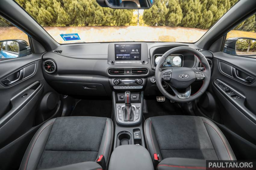 GALLERY: 2021 Hyundai Kona N Line facelift on the road in Malaysia – sportier 1.6 turbo model, RM157k Image #1351227